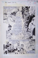 Marvel Fanfare #1 Page 11 Robert E. Brown Comic Art