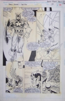 Marvel Fanfare #1 Page 12 Robert E. Brown Comic Art