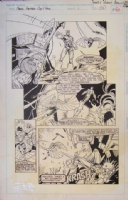 Marvel Fanfare #1 Page 14 Robert E. Brown Comic Art