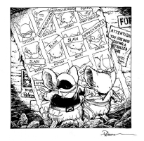 Mouse Guard Poster Wall by David Petersen, Comic Art