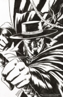 Zorro #10 Front Cover Inks, Comic Art