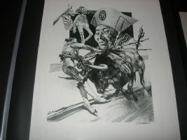 Sergio Toppi panel Comic Art