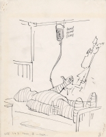 Don Martin Original Illustration Preliminary Art Comic Art
