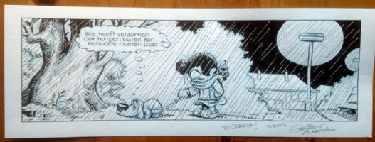 Hercules & Valkema - Elsje, Comic Art