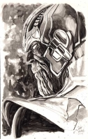 Thanos by Gary Shipman Comic Art