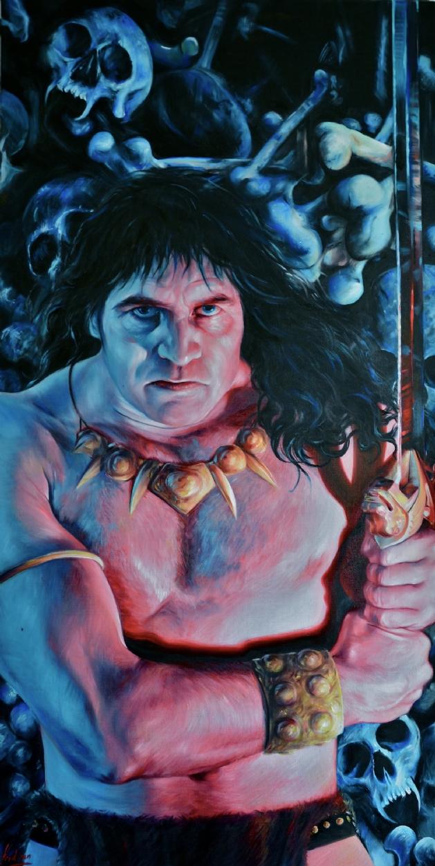 Imagens do cimério - Página 5 Conan%20the%20Barbarian%20in%20the%20crypt%20portrait%20fred.ian%20copie