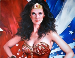 ICONS: WONDER WOMAN/LYNDA CARTER Comic Art