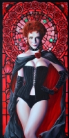 HELLFIRE CLUB: BLACK QUEEN PORTRAIT Comic Art