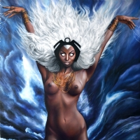 STORM AFRICAN GODDESS Comic Art