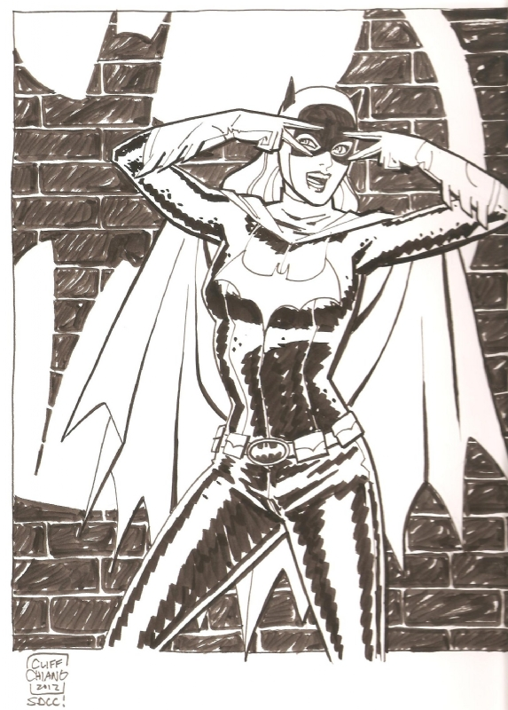 Batgirl by Cliff Chiang Comic Art