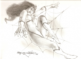 Spider-Woman by Tony De Zuniga, Comic Art