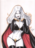 Lady Death 2 Comic Art