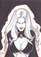Lady Death 1 Comic Art
