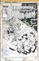 Spider-Ham #9 Cover Comic Art