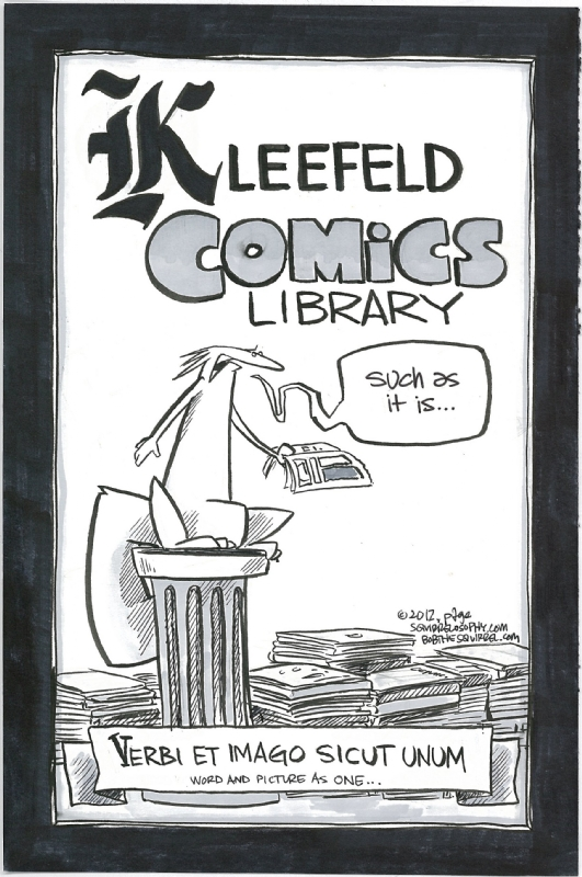 Kleefeld Comics Library Comic Art