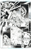 Green Lantern: New Guardians - Brad Walker - Issue 22, Page 10 - feat. Star Sapphire Carol Ferris, Ganthet Comic Art
