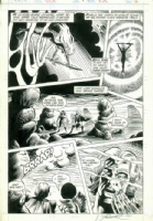 Warp 8 Page 3 - Frank Brunner Comic Art