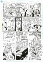 Mister Miracle 26 Page 14 - Joe Phillips    Comic Art