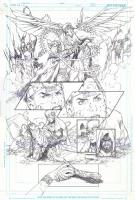 Admira Wijaya's Trinity Blood On The Sands page 8; Witchblade, Comic Art