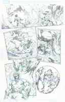 Wolverine Manifest Destiny #4 page 9, by Stephen Segovia, Comic Art