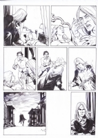 Original art page from Creeps Magazines #2 2015, Tainted Blood comic page 3 by Mansyur Daman , Comic Art