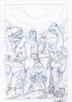 A1 #6 Cover B, by Barnaby Bagenda Nova, Comic Art