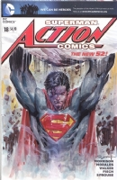 Superman on Action Comics #18 variant blank cover, by Ardian Syaf , Comic Art