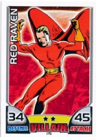 CARD RED RAVEN 2011 Comic Art