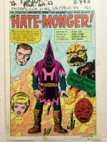 fantastic four # 21 / stat color Comic Art