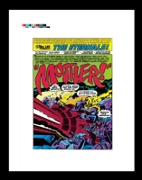 the eternals # page 1 / rare production art Comic Art