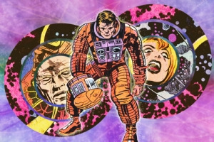 2001 SPACE ODYSSEY KIRBY COLLAGE 1976 Comic Art