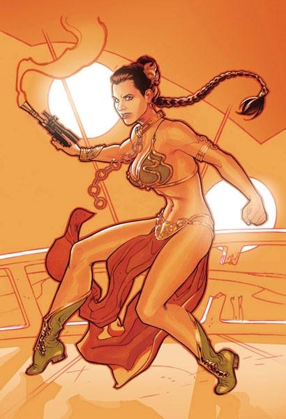 authentic princess leia slave costume. Princess+leia+slave+art