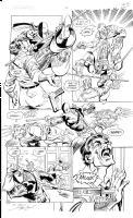 Deathstroke the Terminator Issue 2 Pg 23 Comic Art