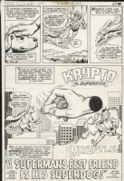 Action Comics 467 Krypto story p. 1 Comic Art