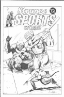 Strange Sports: Monkeyball by MC Wyman Comic Art