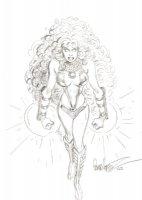 Starfire Comic Art