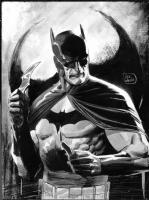 Lee Weeks  Batman Sketch Comic Art