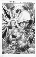 Jay Anacleto - Blood Queen Issue 3 Cover Comic Art