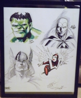 Marvel Avengers Jam Piece Comic Art