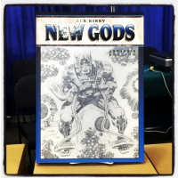 IDW - Jack Kirby New Gods: Artist's Edition variant  Comic Art