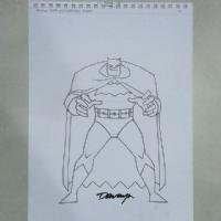 Cooke, Darwyn - Batman 75th Anniversary Short Comic Art