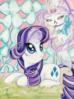 Rarity & Opalescence by Sara Richard Comic Art