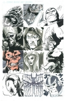 Marvel Villains Jam Comic Art