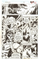 Excalibur #82 pg. 24 Comic Art