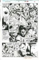 Excalibur #82 pg. 21 Comic Art