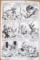 Conan the Barbarian #202 pg. 03 Comic Art