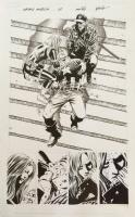 Captain America 25: The Death Of The Dream Comic Art