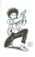 Eve Moneypenny Comic Art