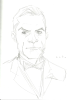 James Bond (Sean Connery) - Phil Noto Comic Art