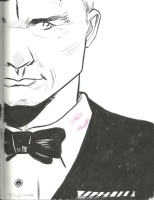 James Bond (Daniel Craig) - Sina Grace Comic Art